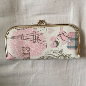 Paris themed wallet